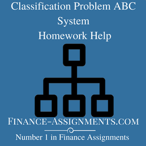 Classification Problem ABC System Homework Help