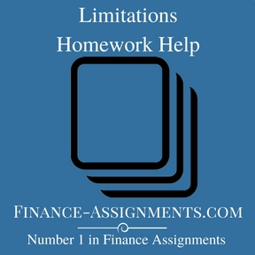 limitations-homework-help