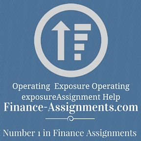 Operating Exposure Operating exposure