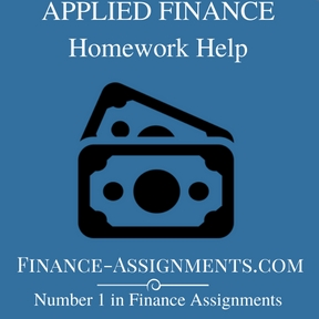 APPLIED FINANCE Home Work Help