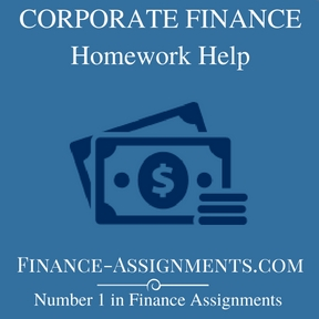 Corporate finance coursework help