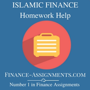 ISLAMIC FINANCE Homework Help