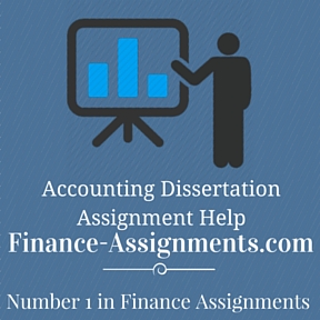 Accounting Dissertation Assignment Help