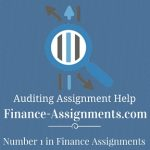 Auditing Assignment Help