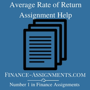 Average Rate of Return Assignment Help