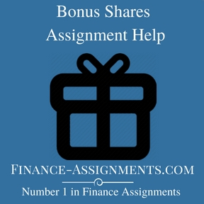 Bonus Shares Assignment Help