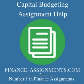 Capital Budgeting Assignment Help