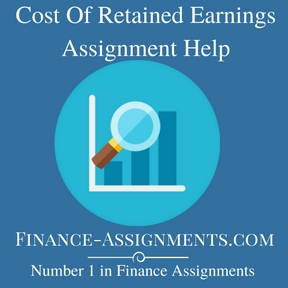 Cost Of Retained Earnings Assignment Help