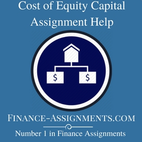 Cost of Equity Capital Assignment Help