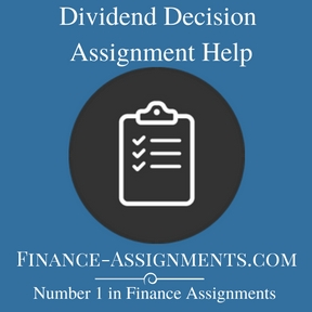 Dividend Decision Assignment Help