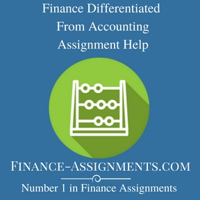 Finance Differentiated From Accounting Assignment Help