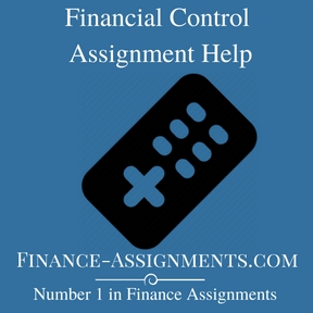 Financial Control Assignment Help