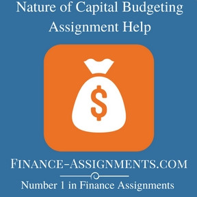 Nature of Capital Budgeting Assignment Help