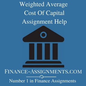 Weighted Average Cost Of Capital Assignment Help