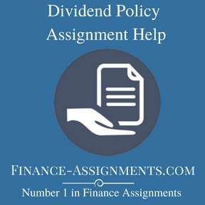 Dividend Policy Assignment Help