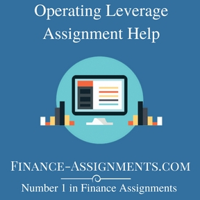 Operating Leverage Assignment Help