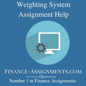 Weighting System Assignment Help
