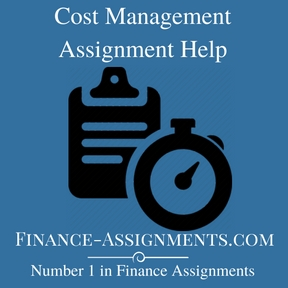 Cost Management Assignment Help