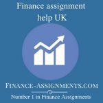 Finance assignment help UK