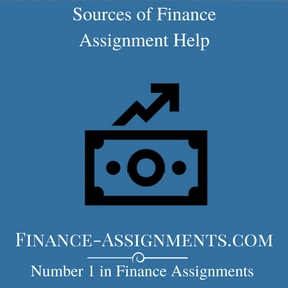 Sources of Finance Assignment Help