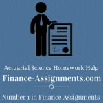Actuary Assignment Help
