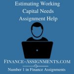 Estimating Working Capital Needs