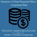 Functions of Chief Financial Officer