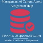 Management of Current Assets
