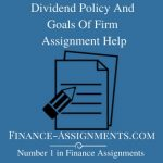 Dividend Policy And Goals Of Firm