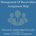 Management Of Receivables