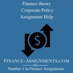 Finance theory and Corporate Policy