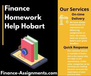 Finance Homework Help Hobart